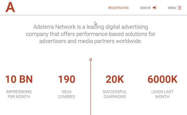 Adsterra PPC Ad Networks