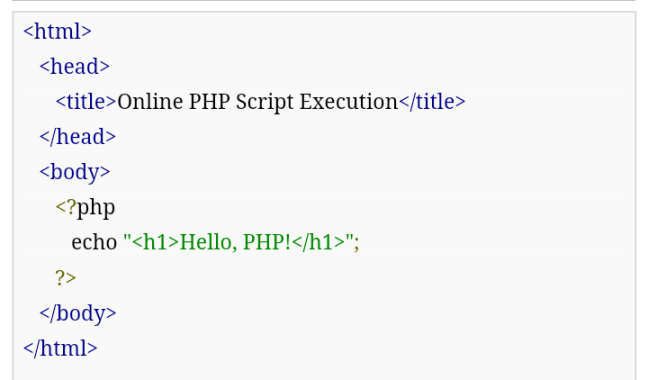 PHP Tutorial 001