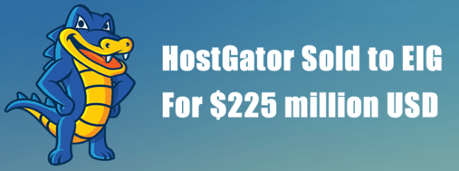 HostGator been Sold  For $225 million USD to EIG