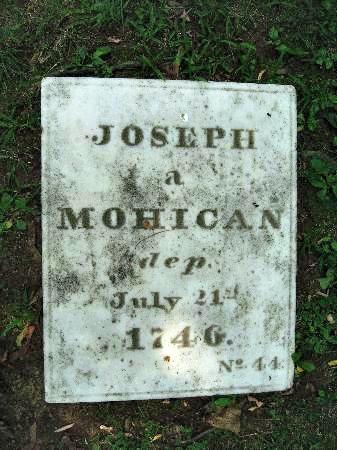 Native American grave