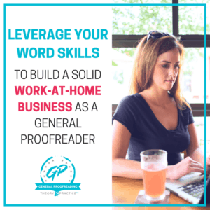proofreading is a different way to make money that many haven't thought of