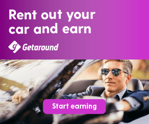 quickly earn money this month with getaround vehicle sharing