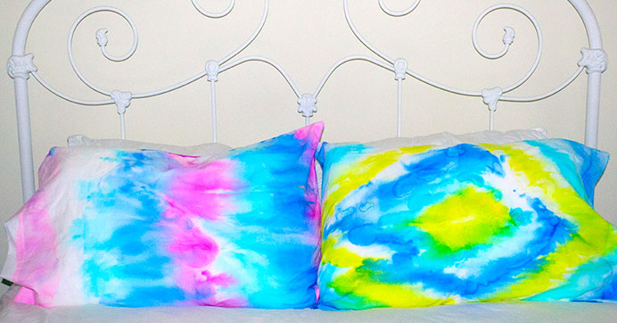these pillowcases are to dye for