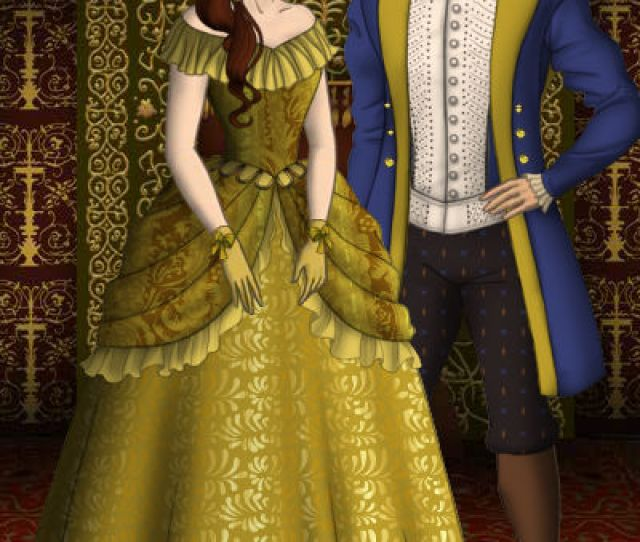 Beauty And The Beast Belle And Adam