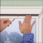 Fensterdichtung, Klebedichtung: Verschiedene Formen und Farben