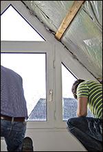 Abdichtung eines Kunststofffensters