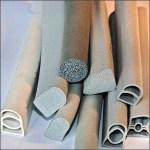 Moosgummidichtungen - Hohlkammerprofile für Stahlzargen