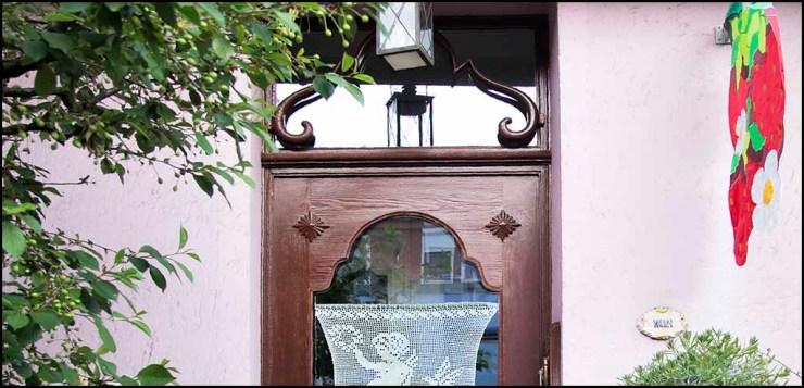 Türdichtungen nachgerüstet in alter Haustür