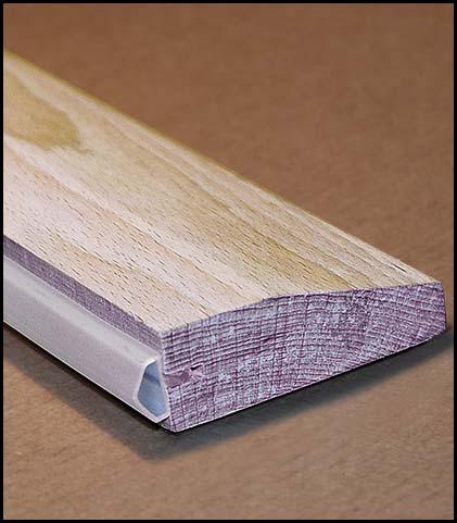 Türschwelle aus Buchenholz