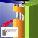 Klemmschutz KitaMax - Montage-Bild