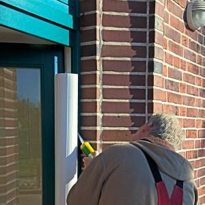 Klemmschutz an der Tür in weiß - Kita-Max