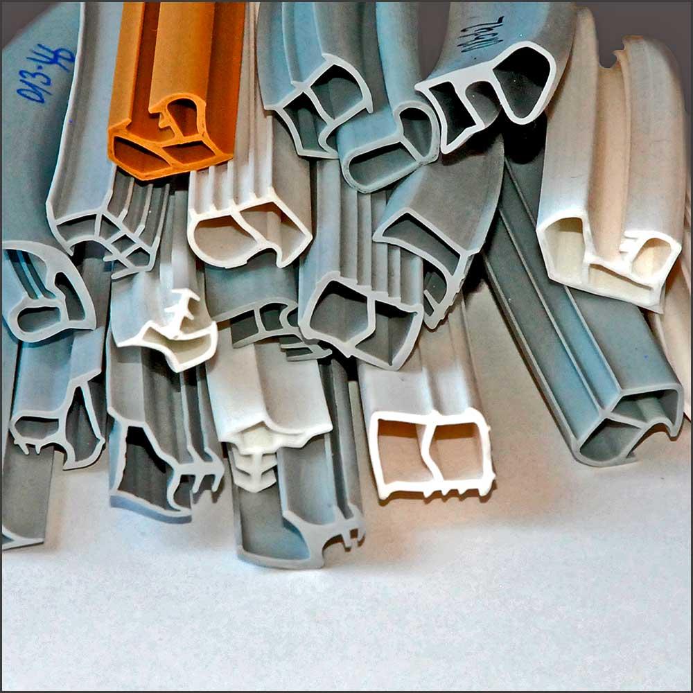 Stahlzargendichtungen mit Hohlkammer