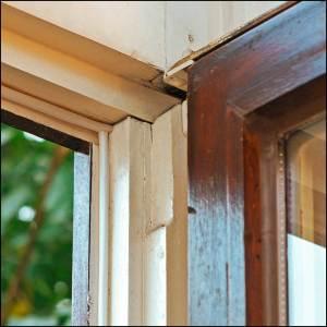 Nachgerüstet mit Fensterdichtung - das Fenster ist jetzt dicht