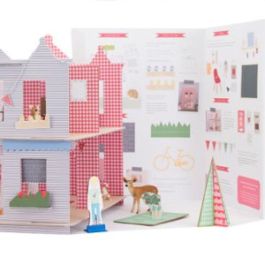 Dollhouses - Paper and Puzzle