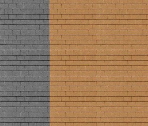 DIY Roofing Textured Roofing Sheet MDF Dolls House