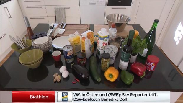 Polenta-Dinkel-Gugelhupf mit orientalischem Gemüse – Kochen für Sky Sport