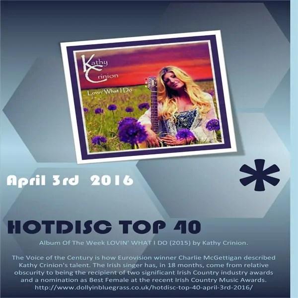 Hotdisc Top 40 April 3rd 2016