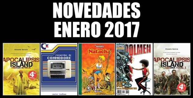 Dolmen Novedades Enero 2017