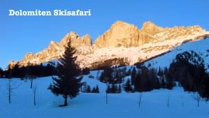 Dolomiten Skisafari