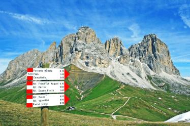 Escursioni Val di Fassa
