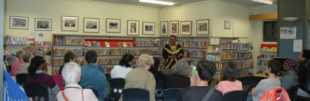 ifeoma talks at Archway image