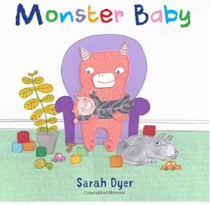 Monster Baby - cover image and web purchase link