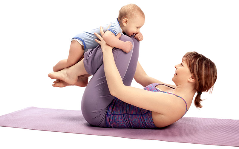 Resuming Your Yoga Practice After You Have Your Baby