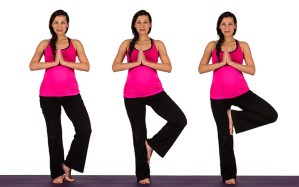 Prenatal Yoga Tree Pose