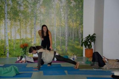 Workshopping Plank Pose