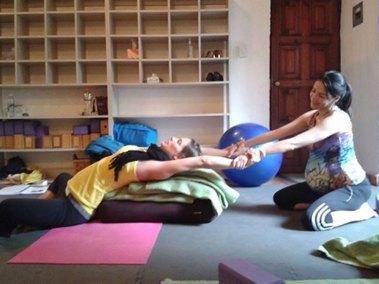 Partner Shoulder Stretch