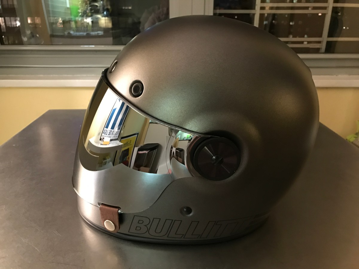 My new Bell Bullitt Retro Helmet !