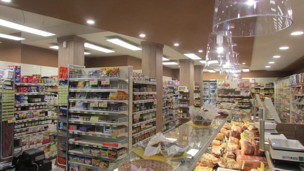 Simply Market 2 a chioggia illuminazione LED banco alimentari