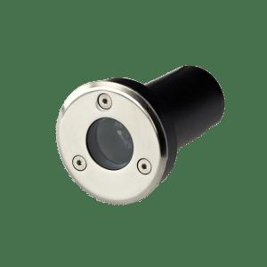 Faretto LED 3W RW per esterno rotondo con incasso a terra e parete Protezione IP67