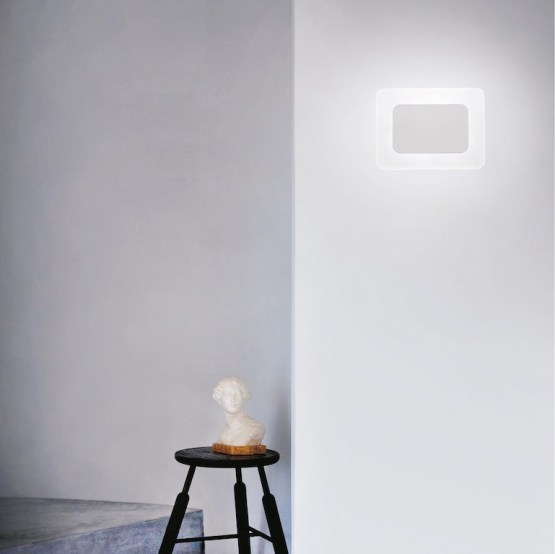 Design indoor wall LED light: ESSENTIAL applique
