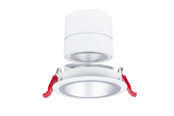 Recessed LED Downlight 15W CRI>90: customizable beam and adjustable body