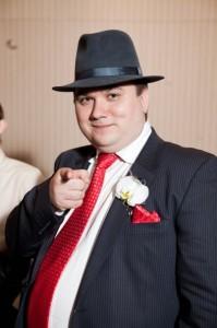 В стиле Аль-Капоне на свадьбе очень близкого друга!