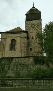 kostel ve Skalsku