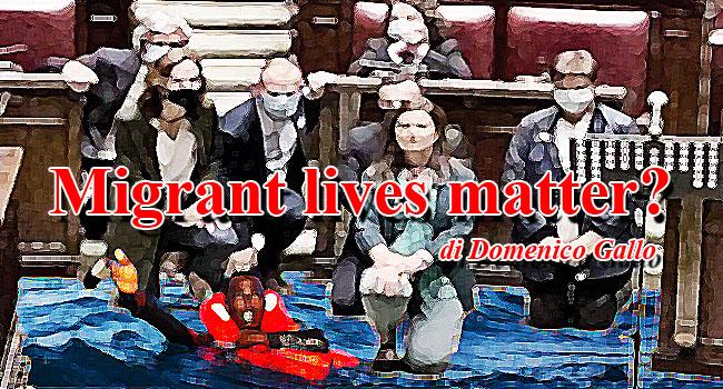 Migrant lives matter?