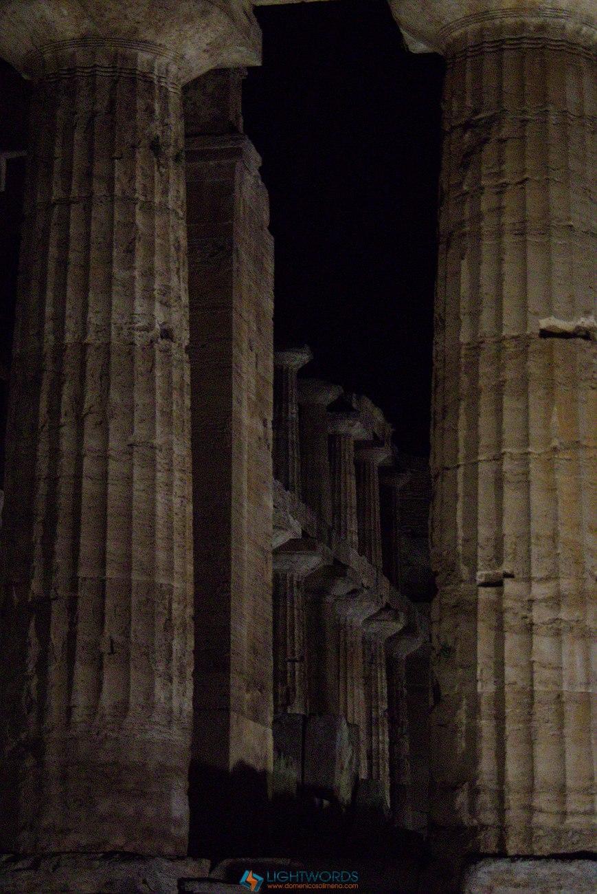 La notte dei Templi di Paestum