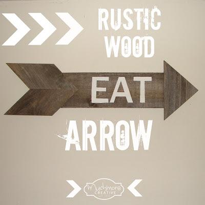 Reclaimed Wood Arrow