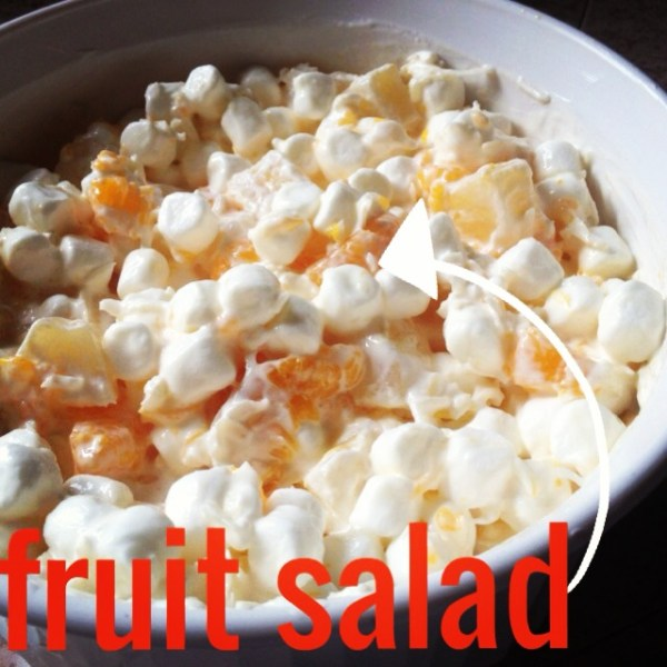 Fruit salad - yummy yummy