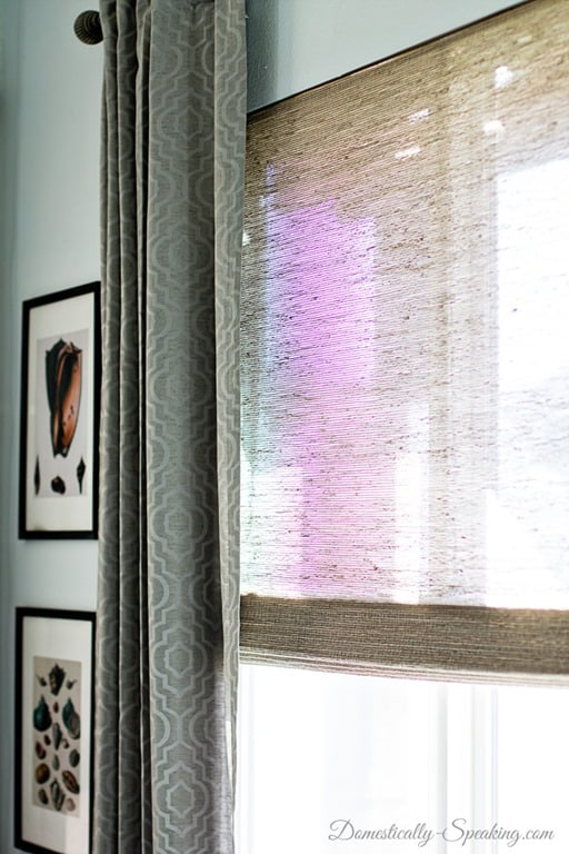 Updating The Windows With Natural Woven Wood Shades Domestically Speaking