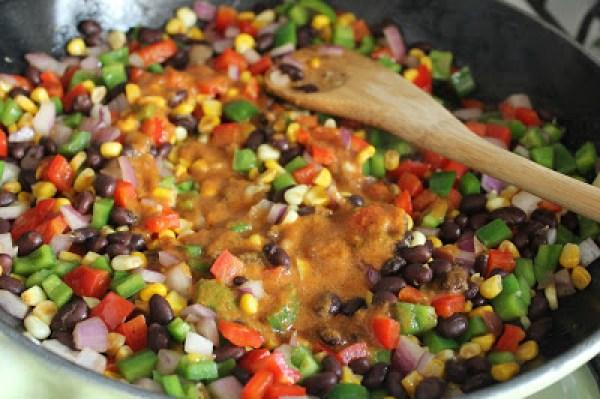 Dude-Diet-Burrito-Bowl-Marinated-Vegetables6