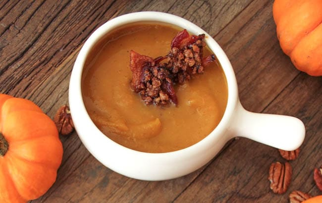 harvest-pumpkin-soup-with-candied-bacon-7