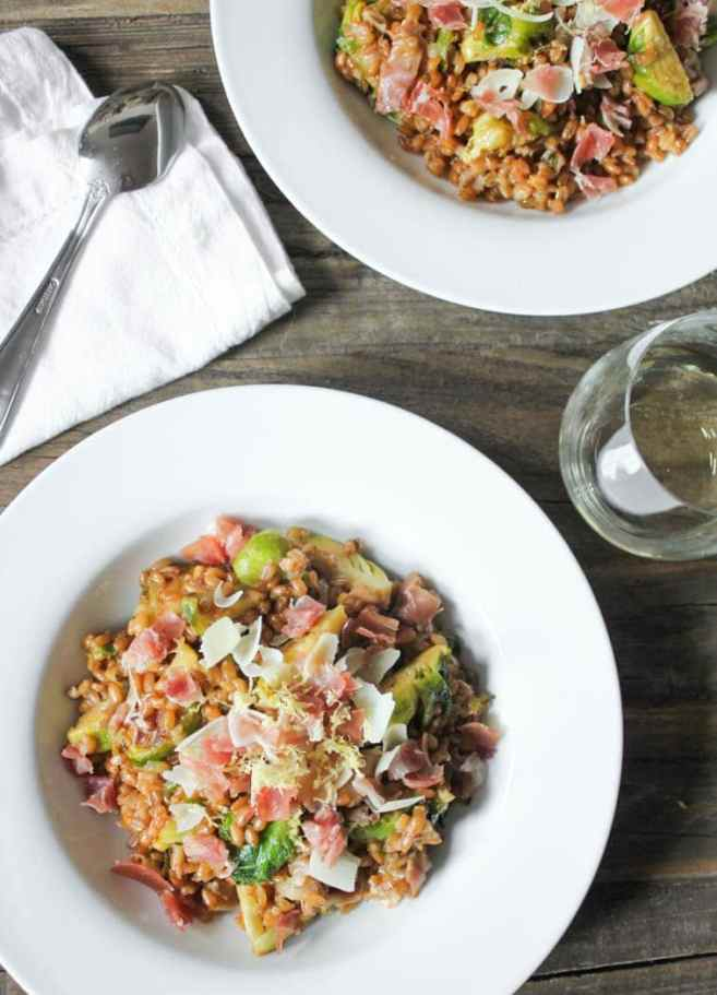 Farro-risotto-with-prosciutto-parmesan-and-brussels-sprouts-11-2