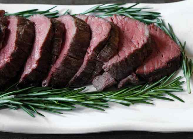 Slow Roasted Beef Tenderloin With Rosemary Domesticate Me