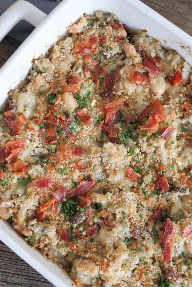 Mushroom-White-Bean-and-Brown-Rice-Casserole-With-Bacon-and-Gruyere-11
