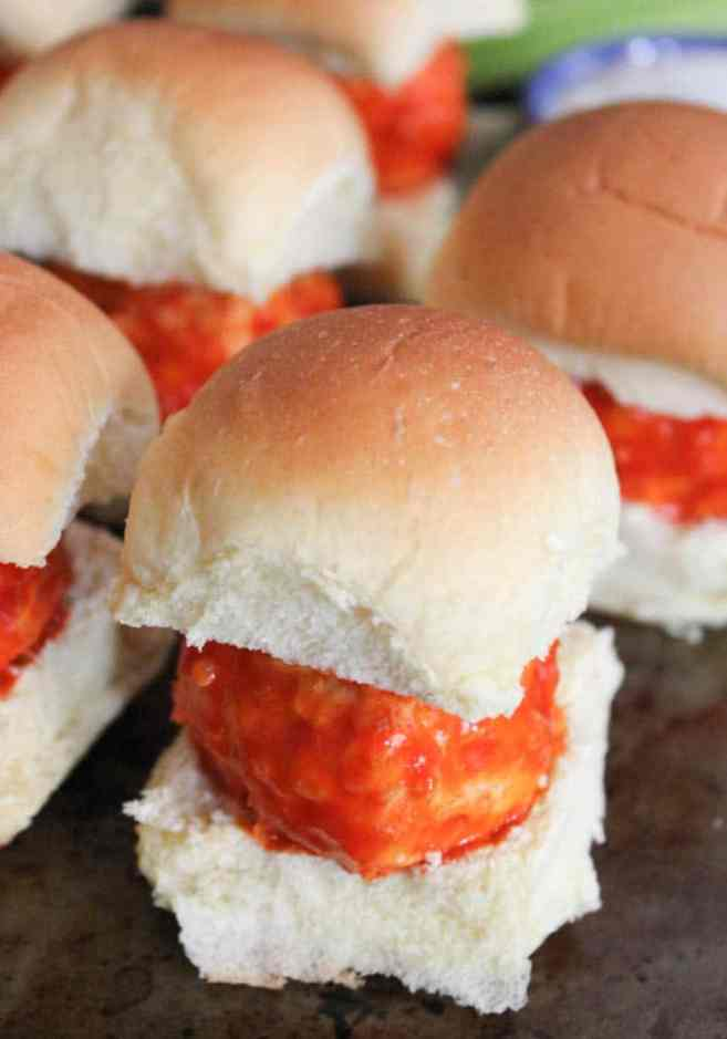 cheesy-buffalo-chicken-meatball-sliders-1