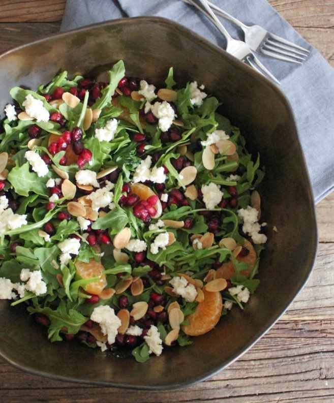pomegranate-clementine-and-ricotta-salad-with-avocado-and-toasted-almonds-step-4