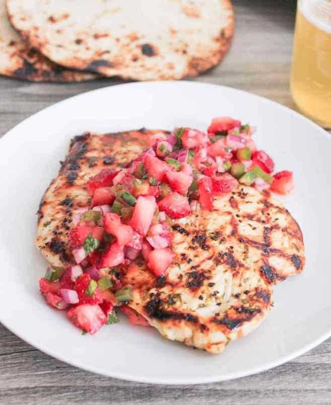 Cilantro-lima-pollo-con-fresa-jalapeño-Salsa-8